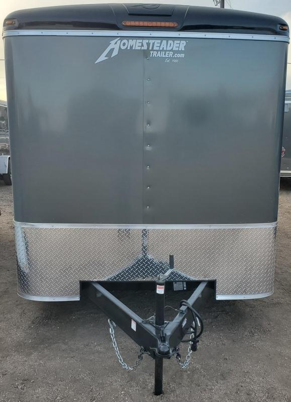 2021 Homesteader 7x16 Enclosed Cargo Trailer  Double Doors
