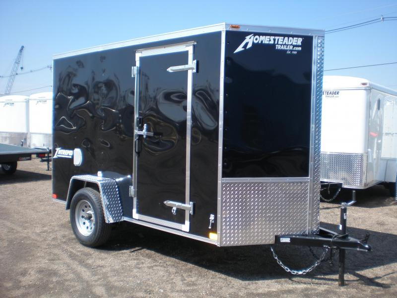 2021 Homesteader 5x10 Enclosed Cargo Trailer - V Nose