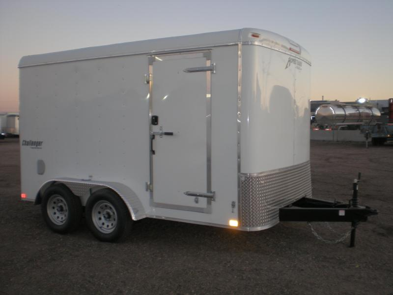 2021 Homesteader 7x12 Enclosed Cargo Trailer Ramp