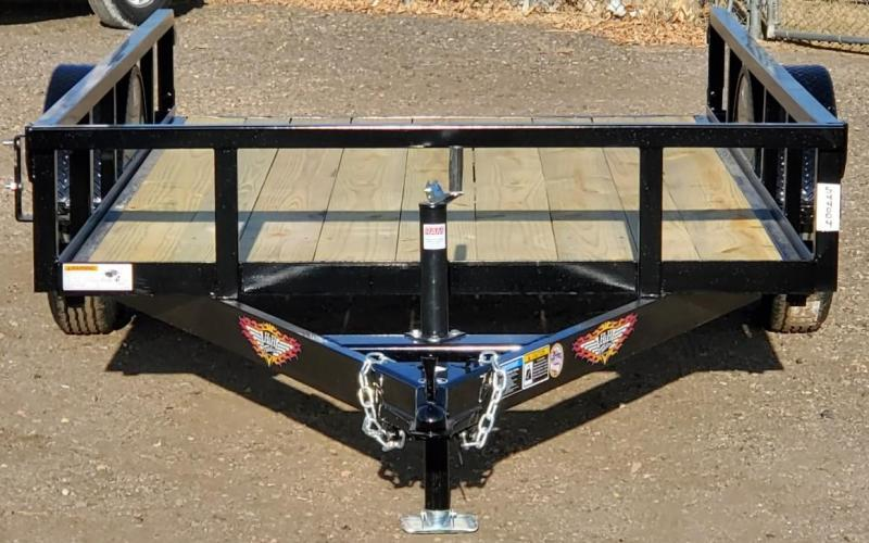 2021 H and H Trailer 5.5x10 Utility Trailer-NO GATE
