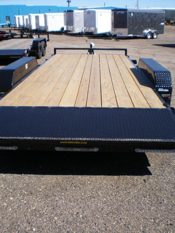 2021 H and H 18' Flatbed Equipment Trailer - 10K