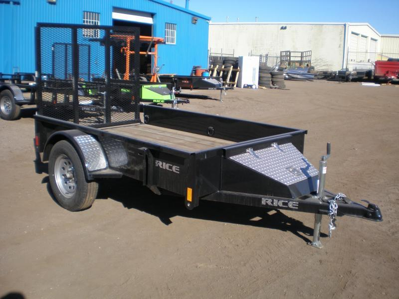 "2020 Rice ""Stealth"" 5x8 Utility Trailer"
