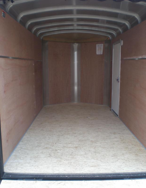 2021 H and H 5x10 Enclosed Cargo Trailer V-Nose Ramp