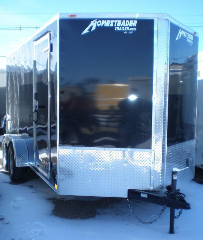 "2021 Homesteader 7x16 ""Intrepid OHV"" Enclosed Cargo Trailer"