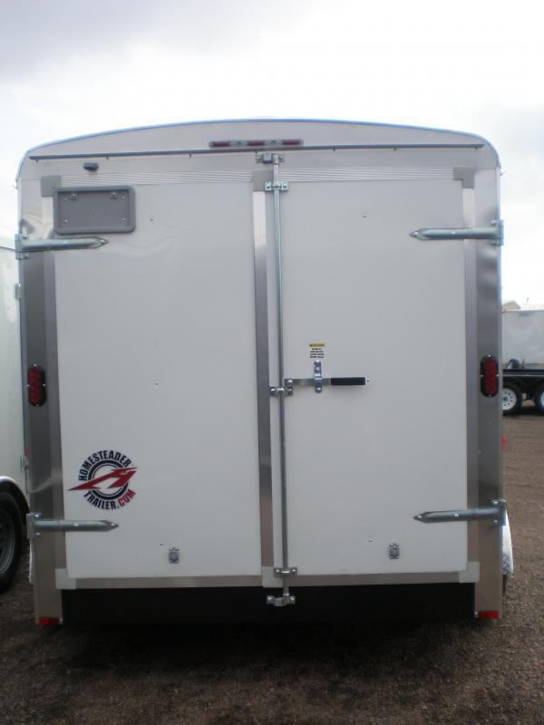 2021 Homesteader 7x12 Enclosed Cargo Trailer Double Doors
