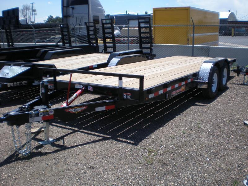 2021 H and H Speedloader Tilt Trailer 82X18 10K