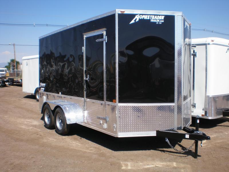"2021 Homesteader 7x14 ""Intrepid OHV""Enclosed Cargo Trailer"