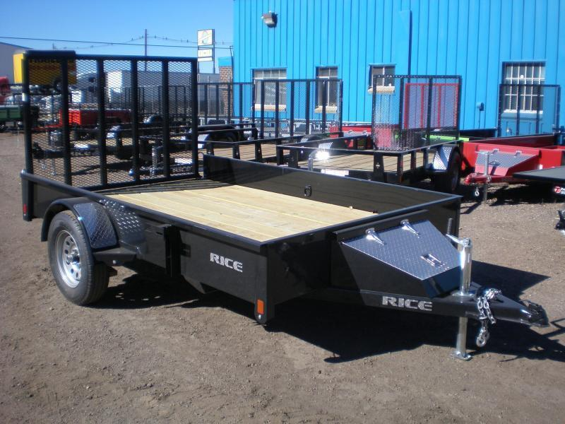 "2020 Rice ""Stealth"" 76x12 Utility Trailer W/Gate"