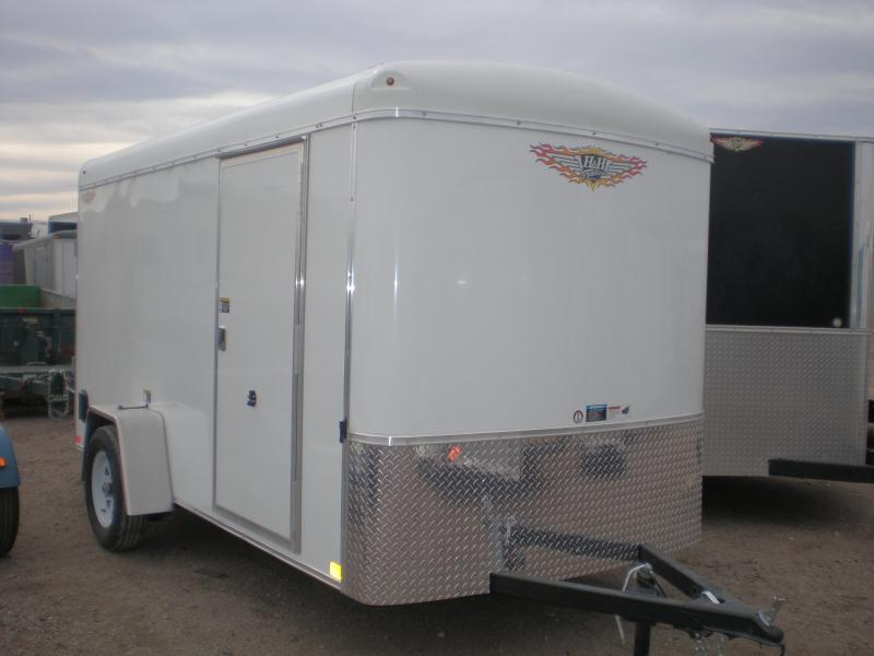 2021 H&H 6x12 Enclosed Cargo Trailer