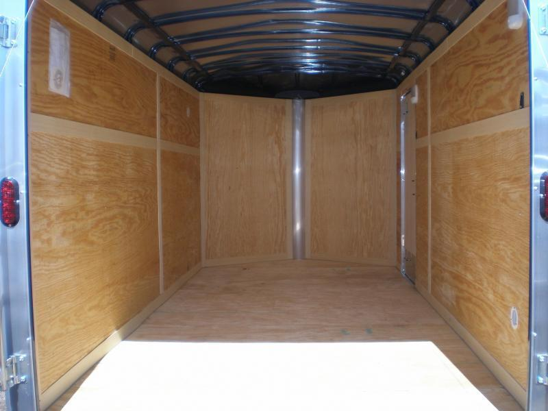 2020 Homesteader 7x14 Enclosed Cargo V Nose Trailer w/Ramp