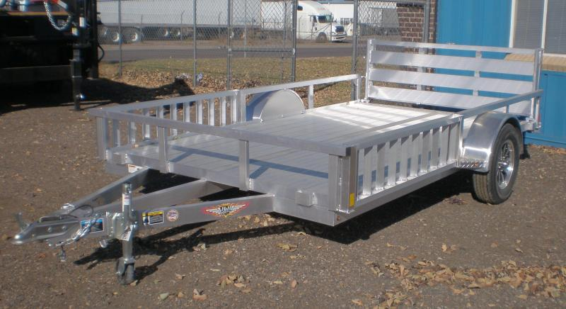 2021 H & H 82X12 ALL ALUMINUM ATV Trailer