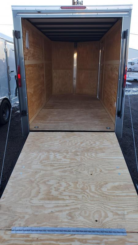 2021 Homesteader 6x14 Enclosed Cargo Trailer - V Nose, Brakes