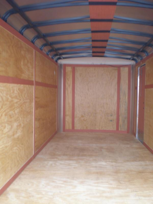 2022 Homesteader 7x16 Enclosed Cargo Trailer W/Ramp & Extra Height 10K