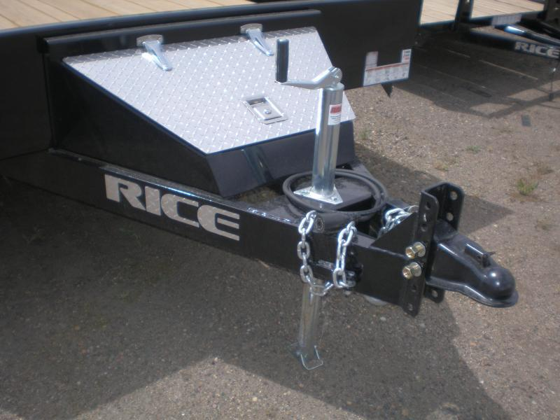 2020 Rice 82x18 Flatbed Car Hauler