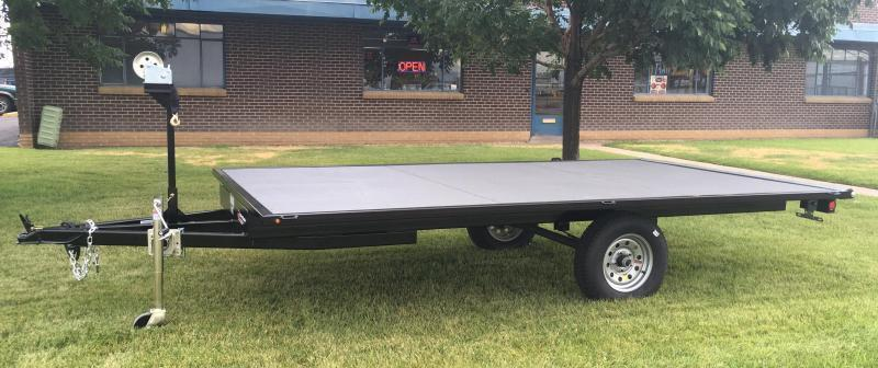 2020 7x12 Raft Trailer w/ Under storage