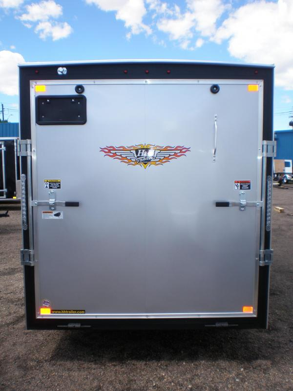 2020 H and H 6x12 Enclosed Cargo Trailer