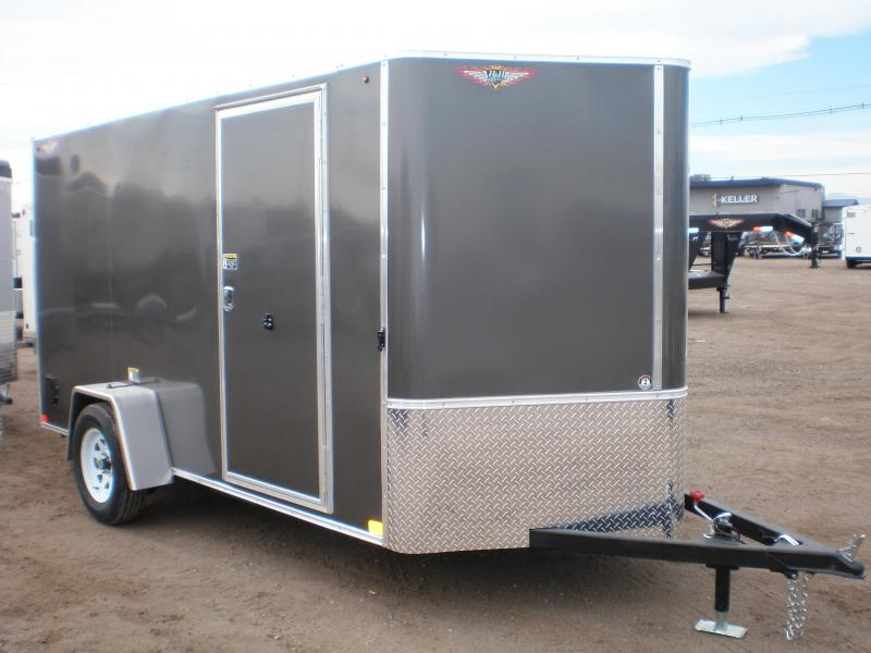 2021 H and H 6x12 Enclosed Cargo Trailer