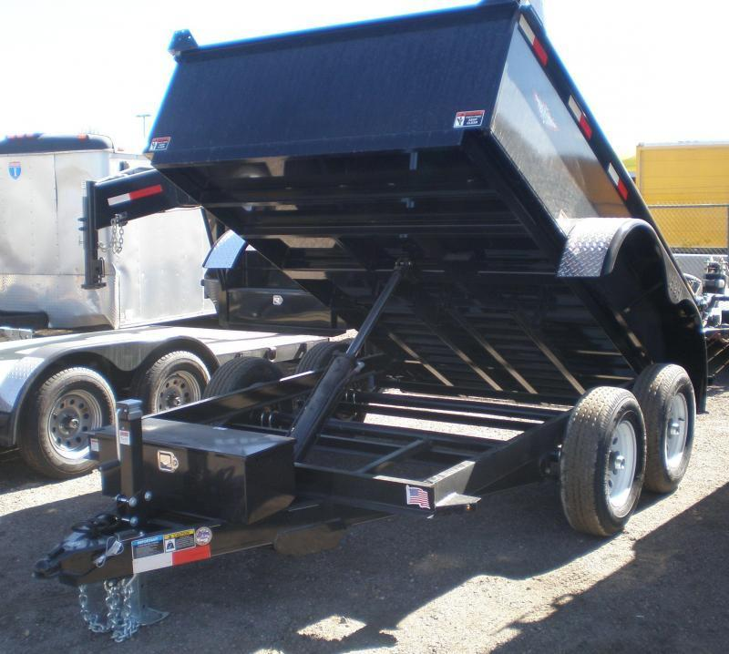 2020 H and H 76x10 Dump Trailer 10K