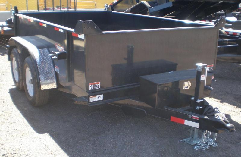 2021 H and H 76x10 Dump Trailer 10K