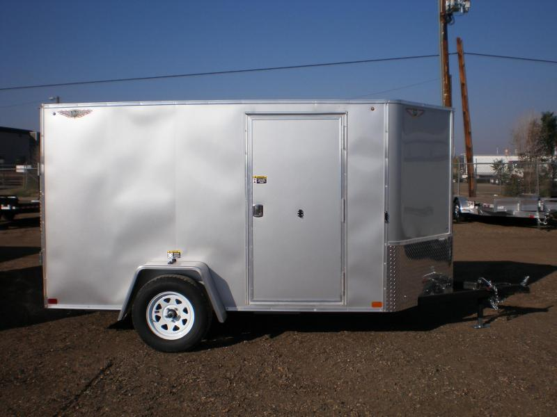 2021 H&H 5x10 Enclosed Cargo Trailer w/Ramp V-Nose