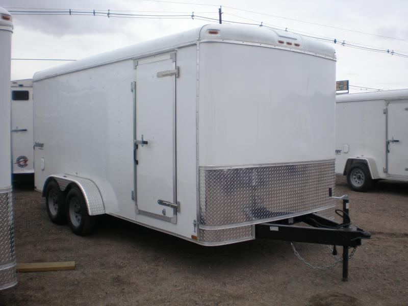 2021 Homesteader 7x16 Enclosed Cargo Trailer W/Ramp Door