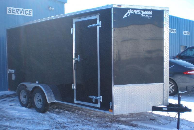"2021 Homesteader 716IT Intrepid ""OHV"" Enclosed Cargo Trailer"