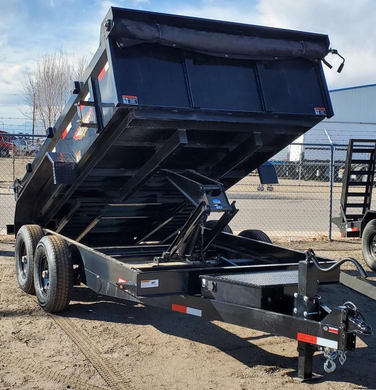 2021 H & H 83x12' Dump Trailer 14K w/ Tarp