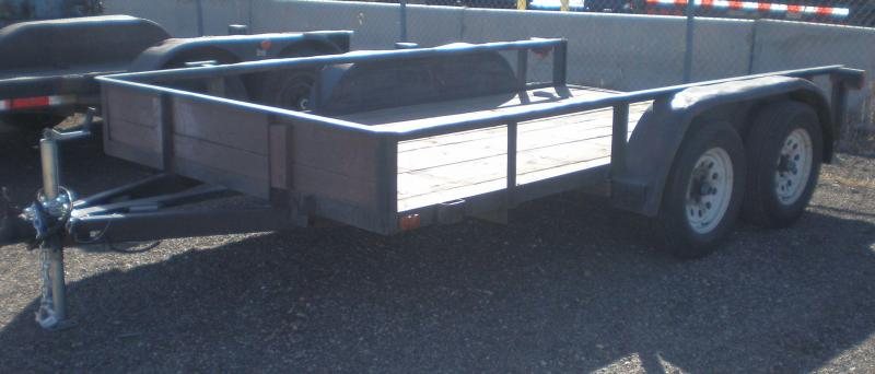 2005 Paiute Trailers 6.5x12 Tandem Utility Utility Trailer