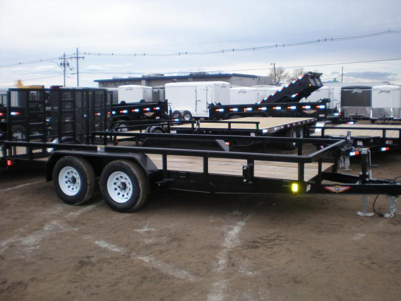2020 H & H 82x14 Utility Trailer - 10K