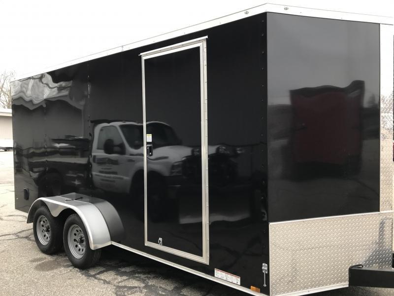 2022 Diamond Cargo 7Ã--16 Tandem Axle Enclosed Trailer Enclosed Cargo Trailer