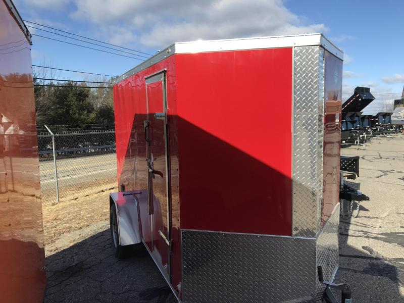 2021 Diamond Cargo 6 Ã--10 V Nose Single Axle Enclosed Cargo Trailer
