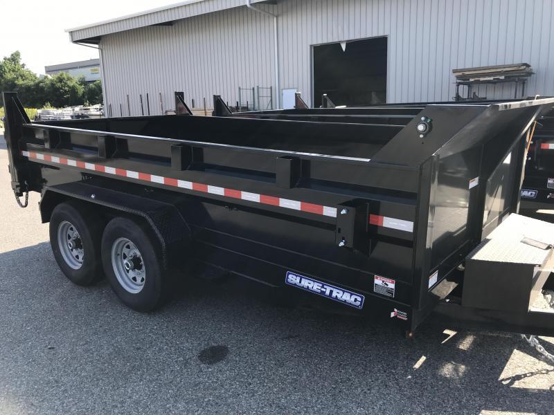 2021 Sure-Trac ST8214HLOD-B-140 Dump Trailer