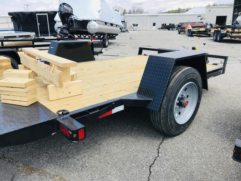 2021 Sure-Trac ST7812SATE-B-100 Equipment Trailer
