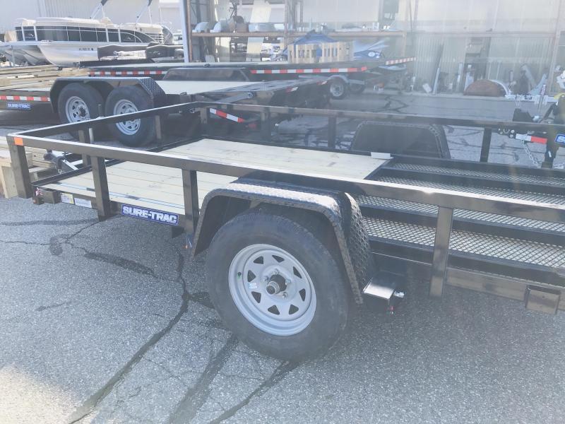 2021 Sure-Trac ST7210TA-B-030 Utility Trailer