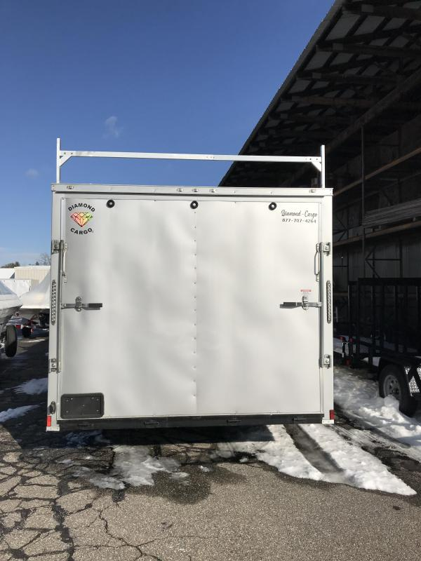 2021 Diamond Cargo 8.5 X 20 Tandem Axle Enclosed Trailer Enclosed Cargo Trailer