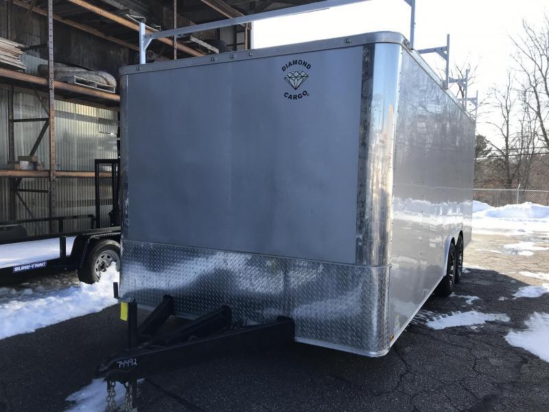 2021 Diamond Cargo 8.5 X 20 Tandem Axle Enclosed Trailer Enclosed Cargo Trailer