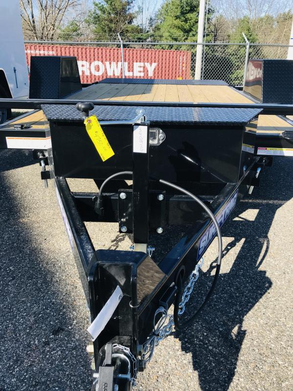 2021 Sure-Trac ST7812SATE-B-078 Equipment Trailer