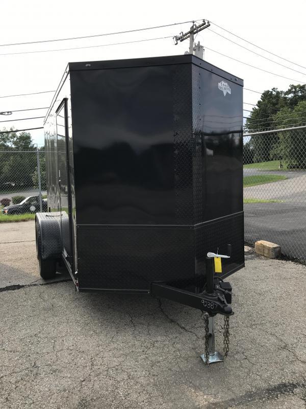 2021 Diamond Cargo 6X12 Tandem Axle Enclosed Trailer Enclosed Cargo Trailer