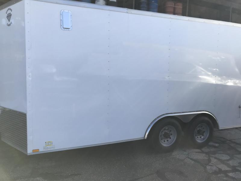 2021 Diamond Cargo 8.5 X 16 Enclosed Trailer Enclosed Cargo Trailer