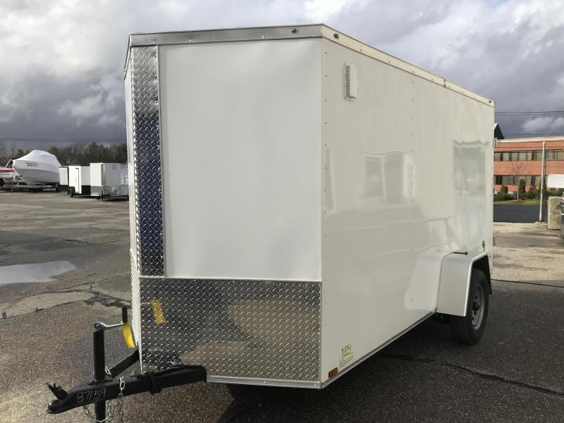 2021 Diamond Cargo 6 X 12 Enclosed Trailer Enclosed Cargo Trailer