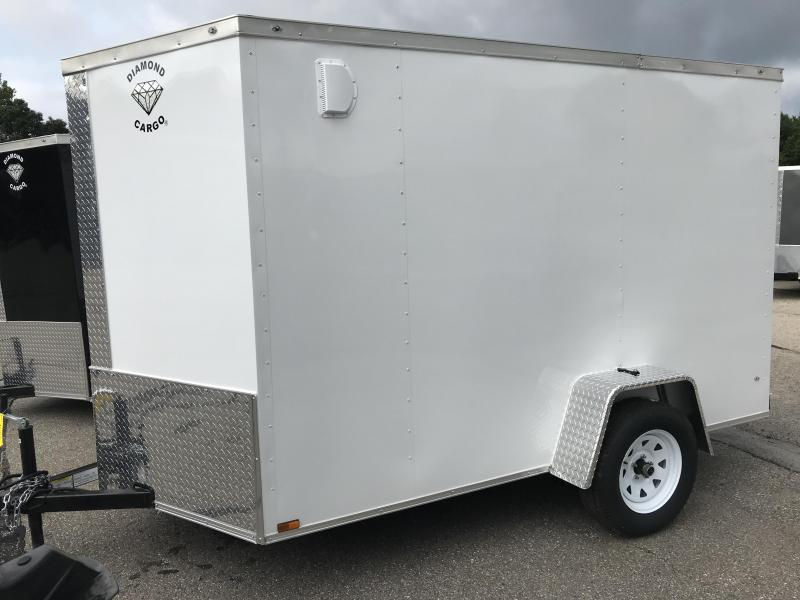 2022 Diamond Cargo 6X10 Enclosed Trailer Enclosed Cargo Trailer