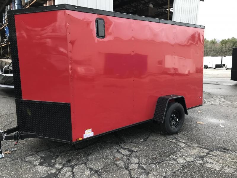 2021 Diamond Cargo 6 x 12 Enclosed Trailer Enclosed Cargo Trailer