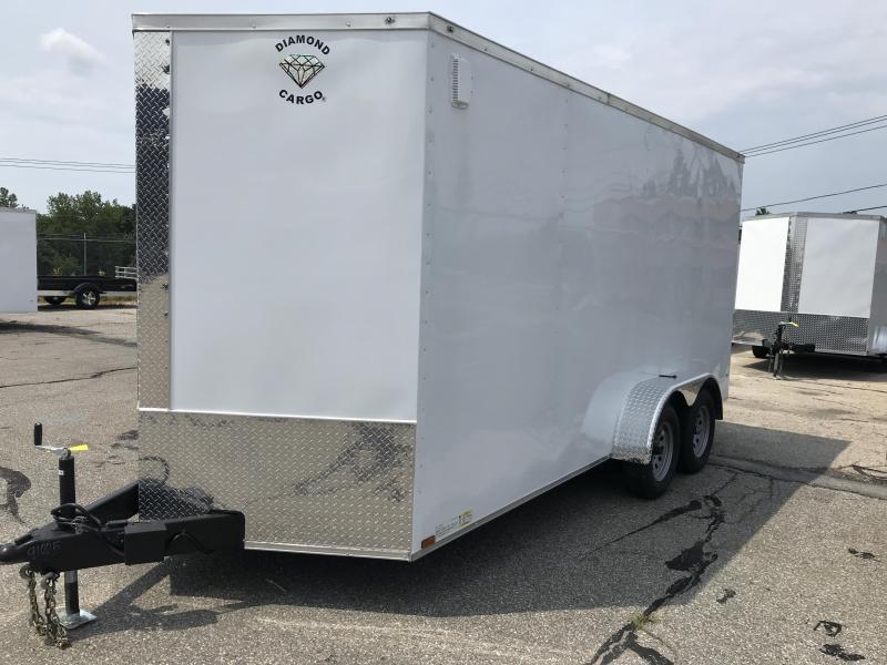 2022 Diamond Cargo 7--16 Tandem Axle Enclosed Trailer Enclosed Cargo Trailer