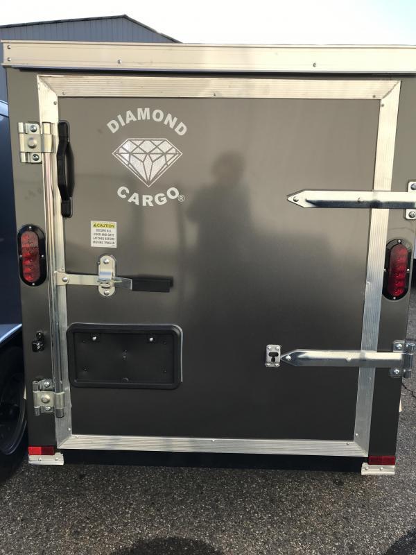 2021 Diamond Cargo 4 x 6 Enclosed Trailer Enclosed Cargo Trailer