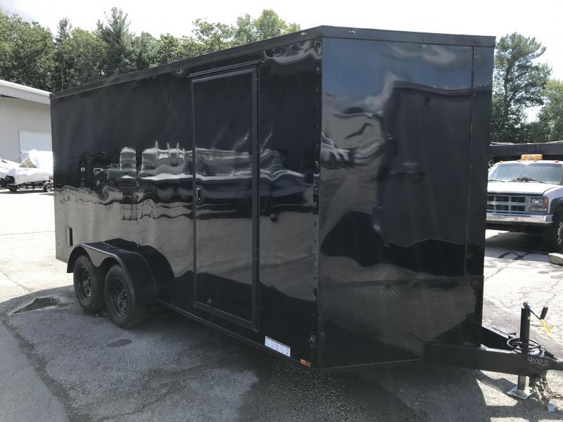 2022 Diamond Cargo 7x16 Tandem Axle Enclosed Trailer Enclosed Cargo Trailer