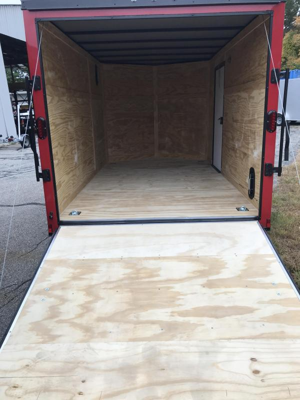 2021 Diamond Cargo 7 --12 V Nose Single Axle Enclosed Cargo Trailer