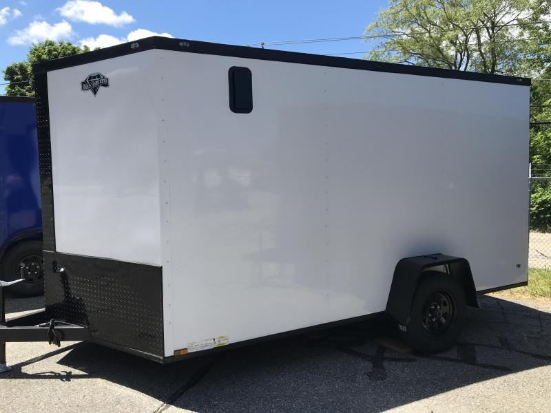 2021 Diamond Cargo 7 X 12 SA Enclosed Cargo Trailer