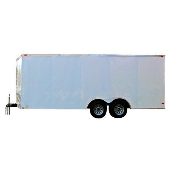 2021 Diamond Cargo 8.5 X 20 V Nose Tandem Axle Enclosed Trailer Enclosed Cargo Trailer