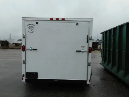 2021 Diamond Cargo 7--12 Tandem Axle Enclosed Trailer Enclosed Cargo Trailer