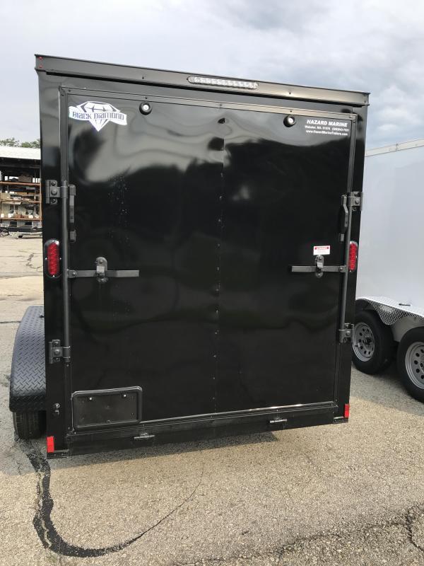 2022 Diamond Cargo 6 X 12 Tandem Axle Enclosed Trailer Enclosed Cargo Trailer